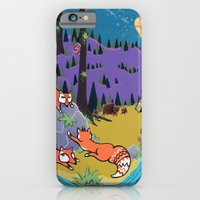 Foxy Forest iPhone 6 Slim Case