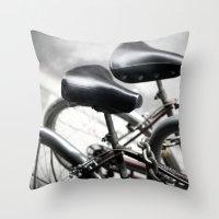 bikes 04 Throw Pillow