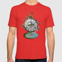 Timeless Flow Mens Fitted Tee Red SMALL