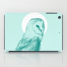 Wise Blue Owl iPad Case