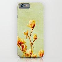 wednesday's magnolias iPhone 6 Slim Case