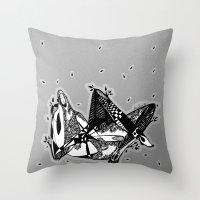 Avant que je m'ennuie - Emilie Record Throw Pillow