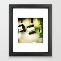 galley kitchen Framed Art Print
