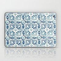 tile pattern IV - Azulejos, Portuguese tiles Laptop & iPad Skin