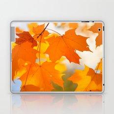 Yellow-orange Autumn Laptop & iPad Skin