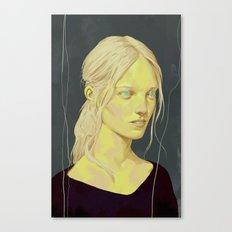 Pale Lady Canvas Print