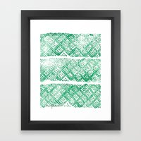 Knitwork I Framed Art Print