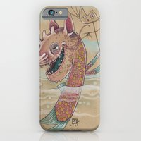 SWIMMING WITH PUPPETS iPhone 6 Slim Case