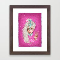 Take Me To Your Planet Framed Art Print