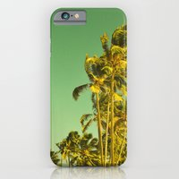 Palm Love In Tropical Gr… iPhone 6 Slim Case