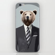 Bear Suit iPhone & iPod Skin