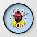 The Last of the Mohicans Wall Clock