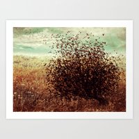 And the Earth Fluttered Art Print