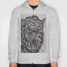 Angry wolf Hoody