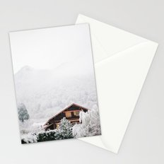 Annecy under the snow - French Alps Stationery Cards