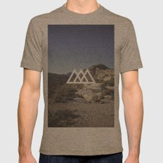 /\/\/\ Mens Fitted Tee Tri-Coffee SMALL