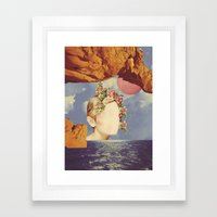 COSMIC PORTRAITS//03 Framed Art Print