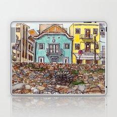 Buarcos Buildings, Portugal Laptop & iPad Skin