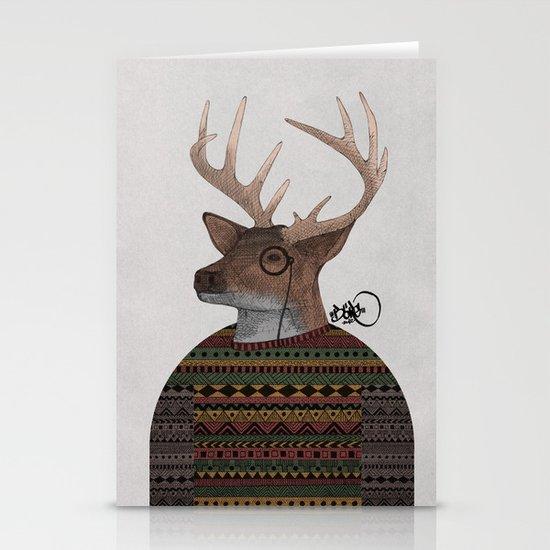 Olaf Stationery Card