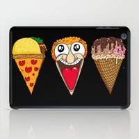 Taco Pizza Cone iPad Case