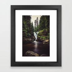 Pure Water Framed Art Print
