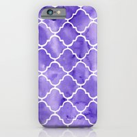 iPhone & iPod Case featuring curvy purple pattern by Taylor Jean