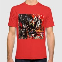Insomnia 2 Mens Fitted Tee Red SMALL