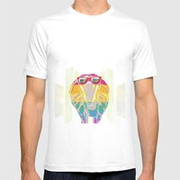 Cobra Don't Care Mens Fitted Tee White SMALL