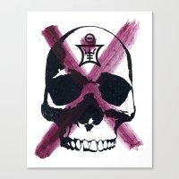 Shaman Skull Canvas Print