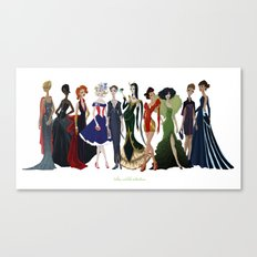 Avengers Gowns: Full Series Canvas Print