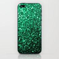 Beautiful Emerald Green … iPhone & iPod Skin
