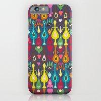indigo love ikat iPhone 6 Slim Case