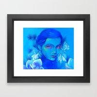 All Is Full of Love (Luna Moths) Framed Art Print