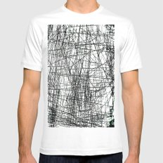 GRATTAGE Mens Fitted Tee SMALL White