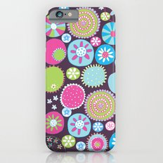 Doodle flowers2 iPhone 6 Slim Case