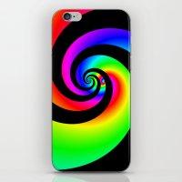 Colourful swirl iPhone & iPod Skin