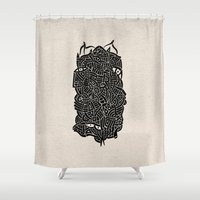- nudity - Shower Curtain