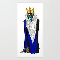 Ice King - My Mind is Changing Art Print