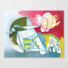 Abstract Painting 7745 Canvas Print