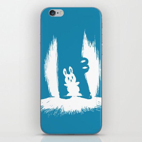 cornered! (bunny and crocodile) iPhone & iPod Skin
