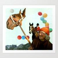 Balloon Animals Art Print