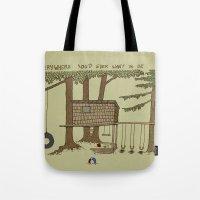 Tree Fort Tote Bag