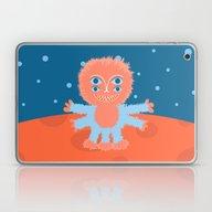 Focussian Furry Alien Laptop & iPad Skin