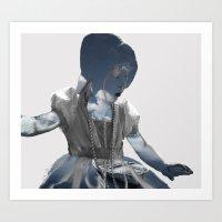 Dress-up Dreams Art Print