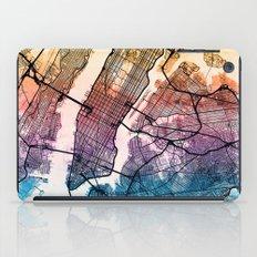 New York City Street Map iPad Case