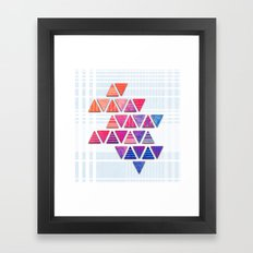 Triangular composition #3 Framed Art Print