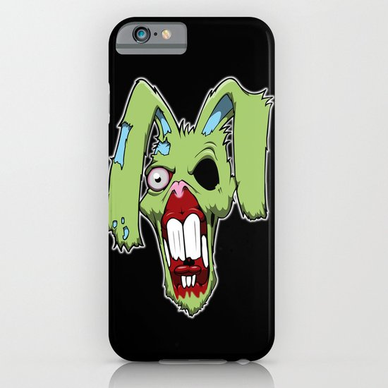Zombie easter bunny 1 iPhone & iPod Case