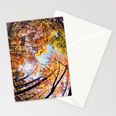 Fisheye Fall  Stationery Cards
