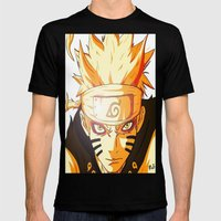 Naruto: Sage Beast Mode Mens Fitted Tee Black SMALL