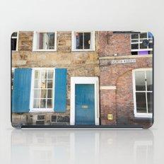 Teal Doors iPad Case